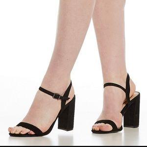 Gianni Bini McKaria Block Heels Size 8